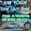 One Last Time Love (Radio Instrumental Mix)