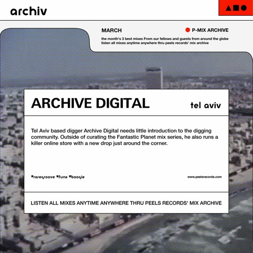 [PARCHIV0321] #01 Archive Digital - Tel Aviv