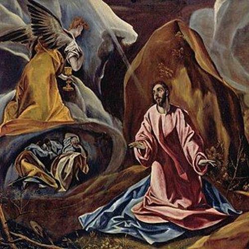 """""""Gethsemane"""" von Annette von Droste Hülshoff 1797-1848"""