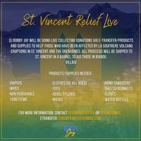 SVG RELIEF LIVE SAT APRIL 17 w/MC TWG