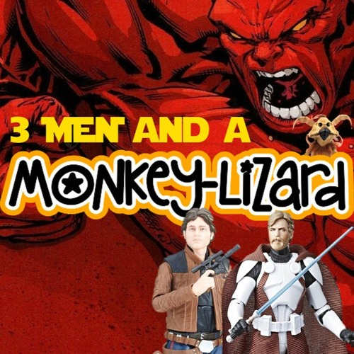 3 Men and a Monkey Lizard Live! Ep38
