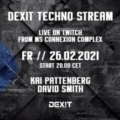 David Smith @ DEXIT Techno Stream 26.02.2021