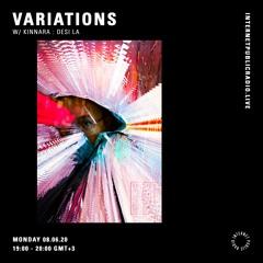 Variations w/  Kinnara: Desi La - 8th June 2020