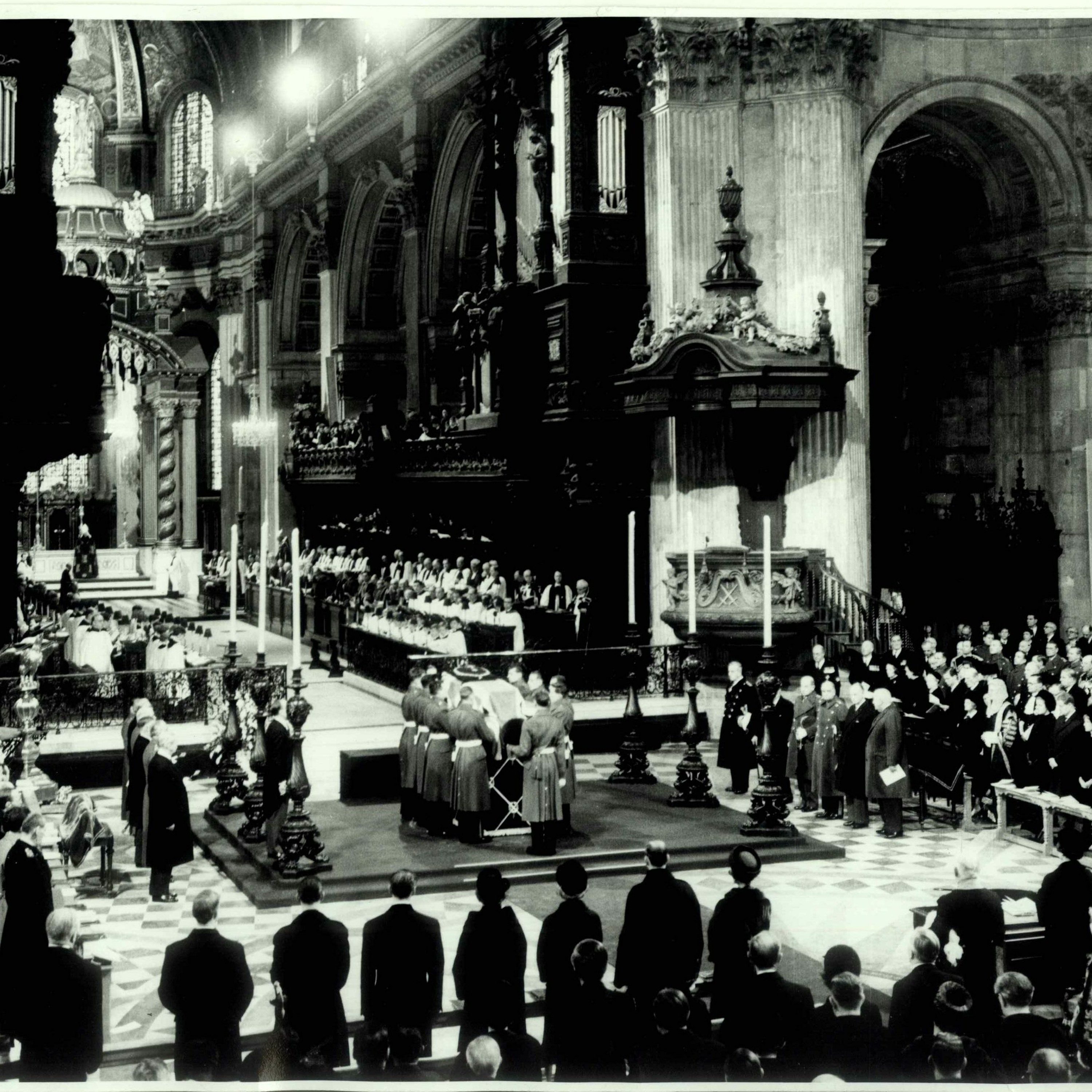 Stories from St Paul's: Winston Churchill and St Paul's