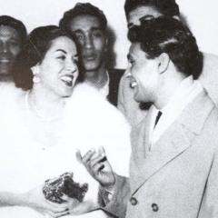عبدالحليم و ليلى مراد   سهرة خاصة على العود - 1956 