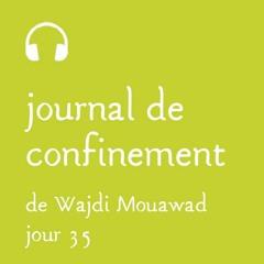 Lundi 20 avril - Journal de confinement - Jour 35