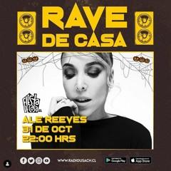 Dj Set Ale Reeves 31/Oct/2020 Rave de Casa - RADIO USACH