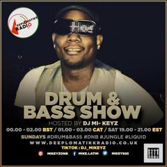 DJ Mi-Keyz Drum & Bass Show 02/05/2021 Deeplomatikkradio