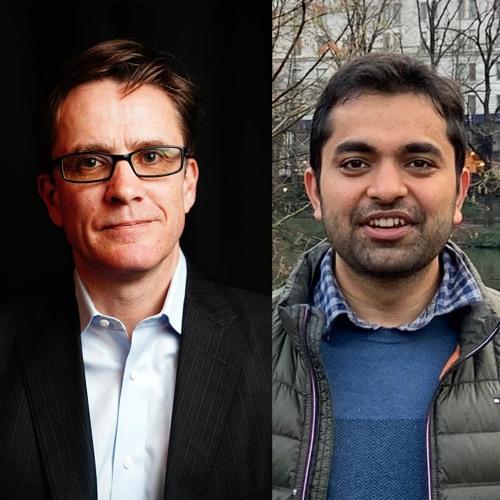 Lambert Hogenhout and Vivek Khetan from the UN and Accenture