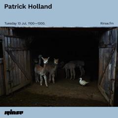 Patrick Holland - 13 July 2021