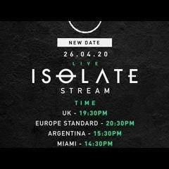 ISOLATE Stream - Michael Bibi