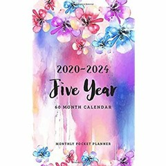Download [ebook]$$ 2020-2024 Monthly Pocket Planner 5 Year Appointment Calendar  60 Months Planner