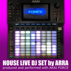 House Techno & Tech-House live set using Akai force (April 2020)
