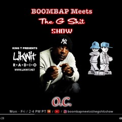Boombap Meets The Gshit Show O.C. interview
