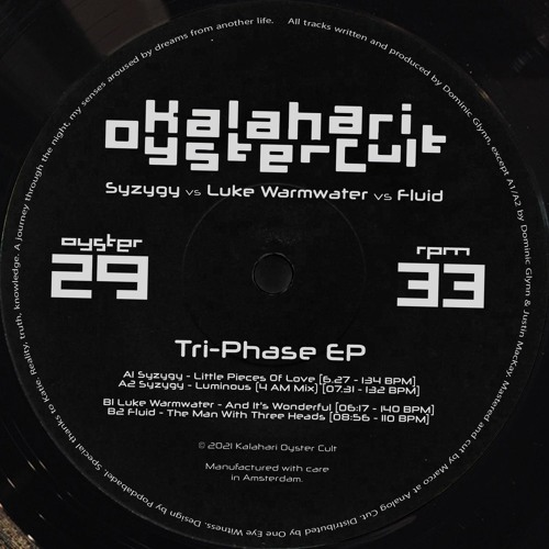 Syzygy & Fluid & Luke Warmwater - The Tri-Phase EP