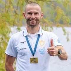Galambos Péter európa-bajnok férfi könnyűsúlyú egypárban! Az evezős élsportolóval beszélgettünk.