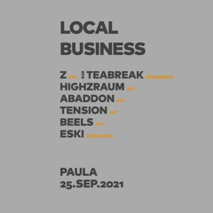 Local Business @ Club Paula   Drum and Bass Set 25.09.21