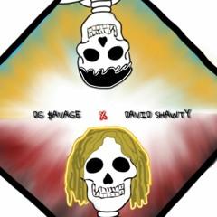 DG $avage x David Shawty - WALK THE PLANK ! // GEEKED OFF A BANG (Prod. Hoodwtch)