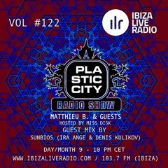 Plastic City Radio Show Vol. #122 By SUNBIOS