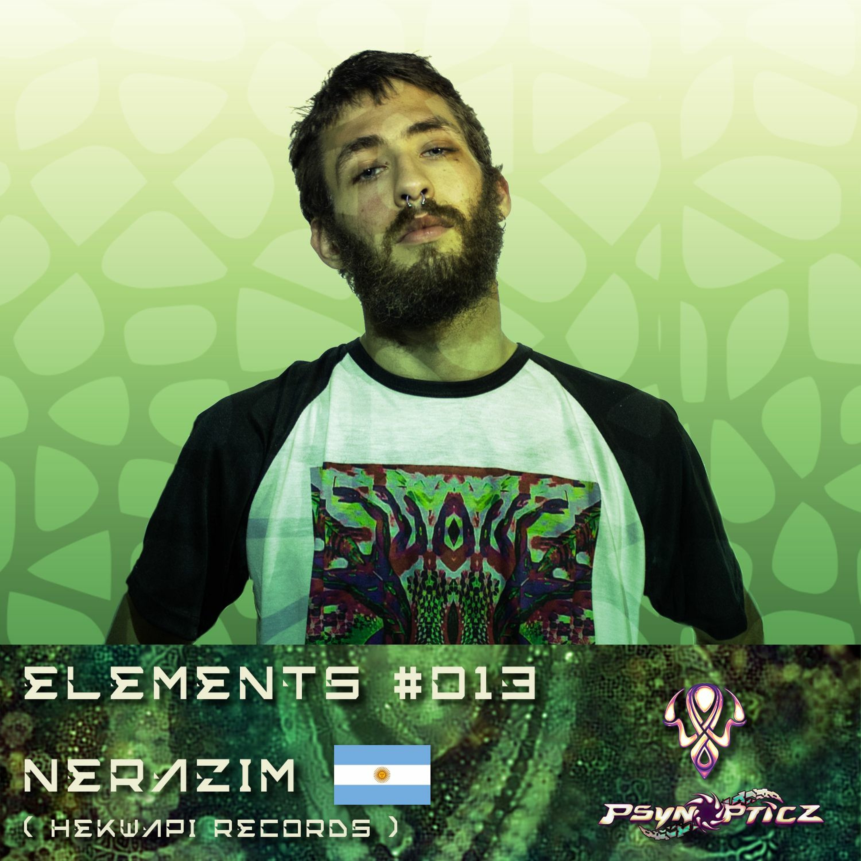 "NERAZIM   ARG (Hekwapi Records) :: PsynOpticz ""ELEMENTS"" Series #013"
