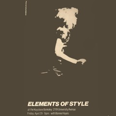 Alibi - Elements of Style (drummer Bob Danielson)
