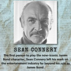 The Life and Times of Sean Connery