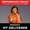 My Deliverer (Performance Track In Key Of E Without Background Vocals; Low Instrumental)