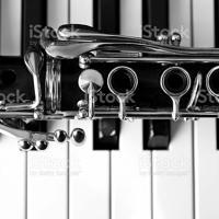 Improvisation Piano Clarinette, clarinette-basse