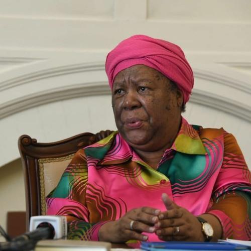 SA Minister of Int Relations  Dr Pandor on Corona-virus And Repatriation Of SA Citizens
