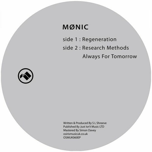 Mønic - Research Methods - Osiris Music