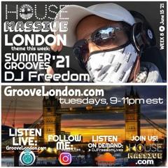 House Massive London - Summer Grooves 2021 (HouseMassive.com) Week 8, 6.25.21