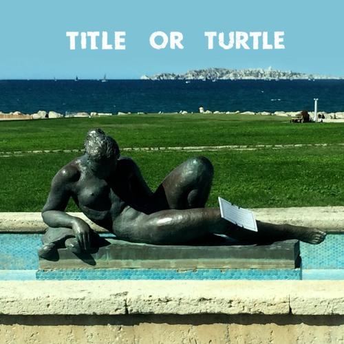 Title or Turtle n°00 : Claude Horstmann