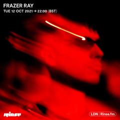 Frazer Ray - 12 October 2021
