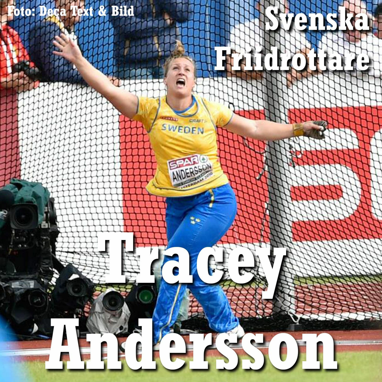 33. Svenska friidrottare - Tracey Andersson