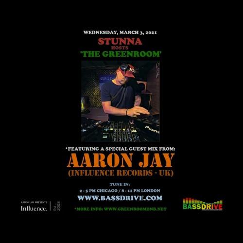 STUNNA - Greenroom DNB Show (Aaron Jay Guest Mix) (03/03/2021)