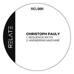 REL001 | Christoph Pauly - Answering Machine (Original Mix)