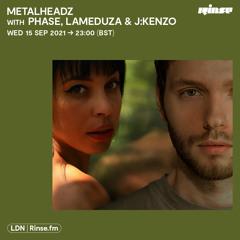 Metalheadz with Phase, LaMeduza & J:Kenzo - 15 September 2021
