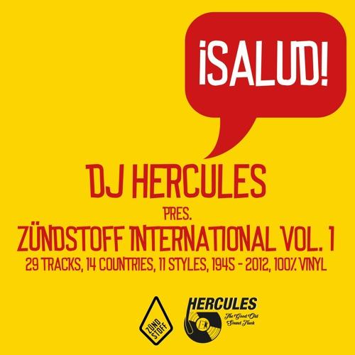 DJ Hercules - Zündstoff International Vol. 1 - ¡Salud!