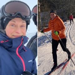 Sportlov med skidor på längden och tvären