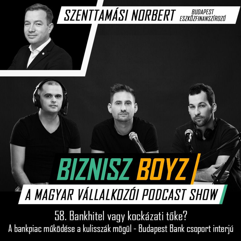 58. Bankhitel vagy kockázati tőke? A bankpiac működése a kulisszák mögül — Budapest Bank csoport