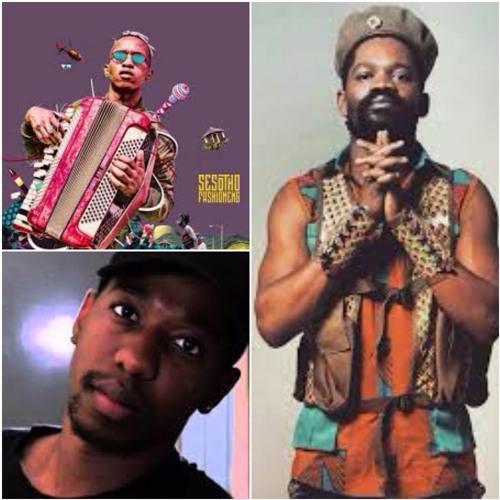 Lesotho Artists Kommanda Obbs, Ntate Stunna & Juvy Oa Lepimpara Unpacks #Collaboration with THABANG