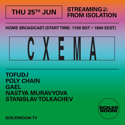 Poly Chain | Boiler Room: Streaming from Isolation with Cxema