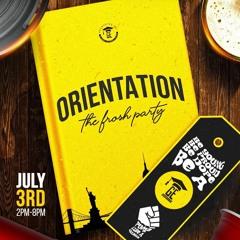 RINGO STAR & DJ PADDY LIVE @ ORIENTATION JULY 3RD 2021 (GRADUATES ENT.)