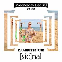 [sic]nal / 30 Dec / DJ Abrissbirne