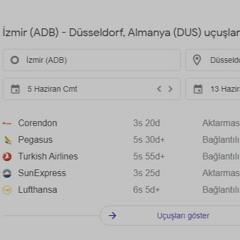 from izmir to düsseldorf