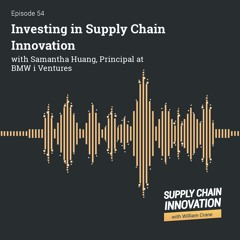 E54 Investing In Supply Chain Innovation