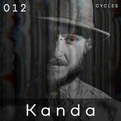 Cycles Podcast #012 - Kanda (tech-house, groove, dark)