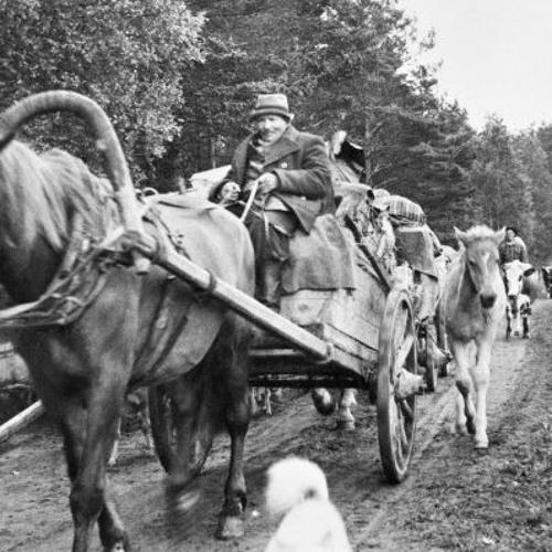 3. Evakkomatka hevoskyydillä