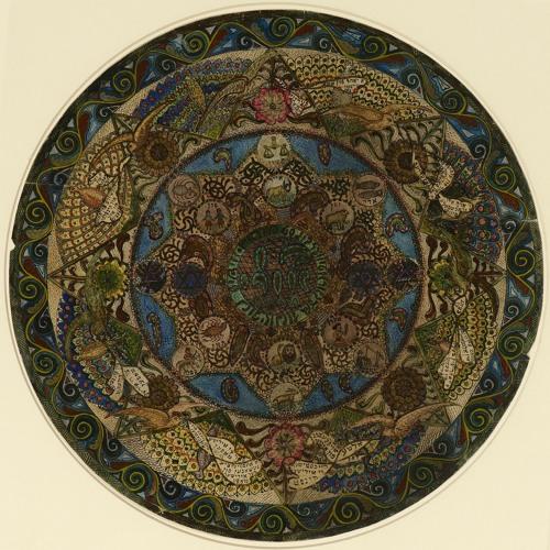 Lazar Berson Circular Design for Ben Uri Art Society
