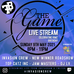 The Game Live Stream - DJ Syfer & Likkle Shaun